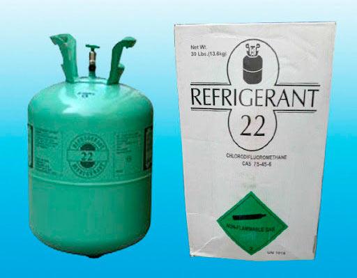 Gas refrigerante R-22 restricción y prohibición de uso