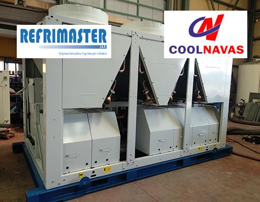 Colaboración entre las empresas Refrimaster y Coolnavas