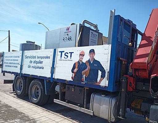 Colaboración entre las empresas TST Servicios y Coolnavas